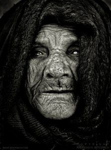 104 Year Old Woman, Cairo, Egypt 1996