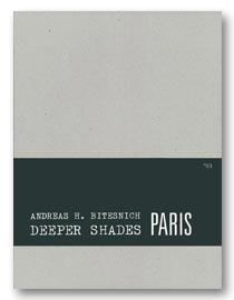Deeper Shades #03 PARIS, slipcased edition