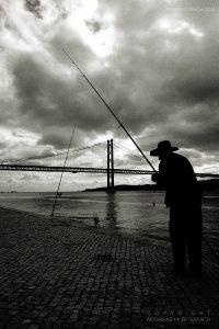 Man fishing, Lisbon 2019