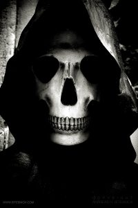 The grim reaper, Lisbon 2019