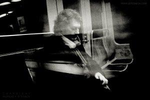 Traveller reflecting, Lisbon 2019