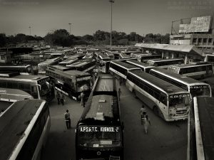 Bus Station, Bangalore, India 2008