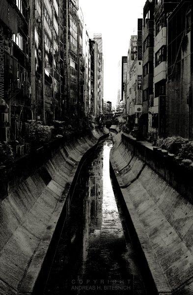 Canal, Tokyo, Japan 2012