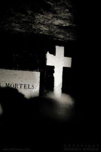 Catacombs, Paris 2012