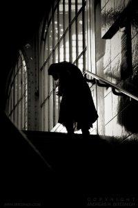 Dark coat, Paris 2012