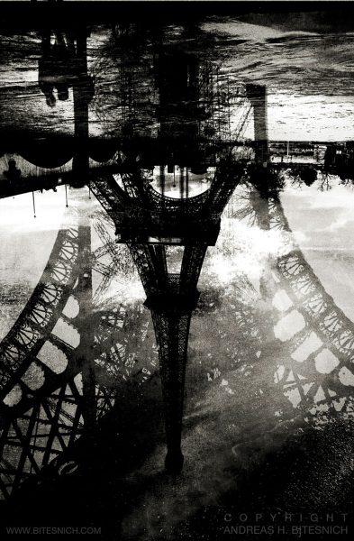 Eiffel Tower two, Paris 2011