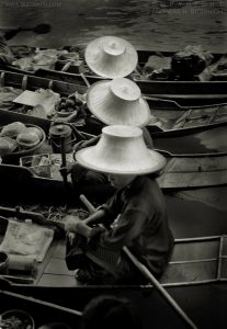 Floating Market, Bangkok, 1999