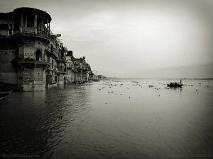 Flooded Ghat, Varanasi, India 2007