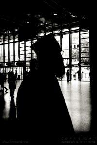 Inside Centre Georges Pompidou (left), Paris 2011