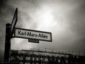 Karl Marx Allee, Berlin 2017