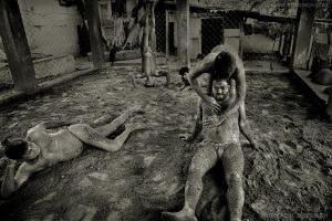 Kushti wrestlers, Kolkata, India 2008