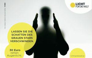 Licht fuer die Welt charity advertising campaign