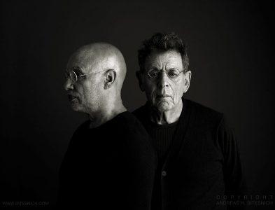 Philip Glass & Dennis Russell Davies, Linz 2012