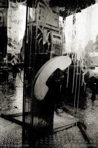 Phone booth, Paris 2012