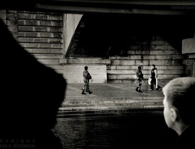 Seine scene 01, Paris 2013