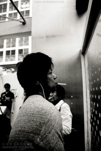 Smoking man, Tokyo, Japan 2012
