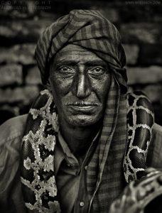 Snake charmer, Agra, India 2006