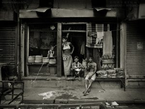 Street scene, Varanasi, India 2007