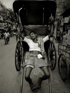 Street scene, Kolkata, India  2008