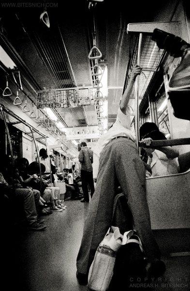 Subway scene, Tokyo, Japan 2012