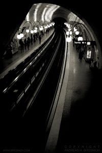 The Cite Metro Station, Paris 2012