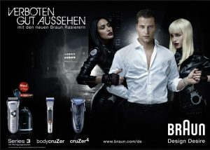 Braun advertising campaign with Til Schweiger
