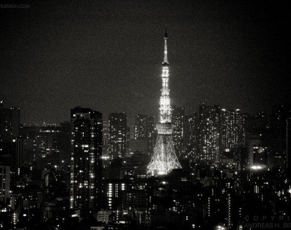 Tokyo Tower, Tokyo, Japan 2012