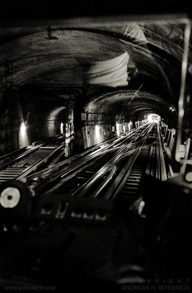 Two tunnels, Paris 2012