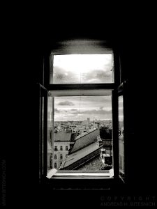 View from my window, Vienna 2004