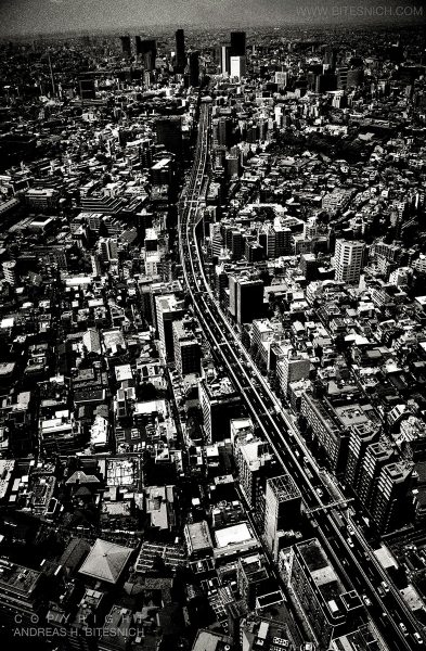 View over Tokyo, Japan 2012