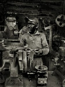 Worker, Agra, India 2006