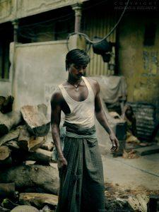 Worker, Varanasi, India 2007