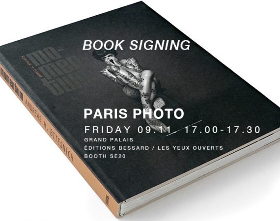 BOOK SIGNING AT PARIS PHOTO 2018