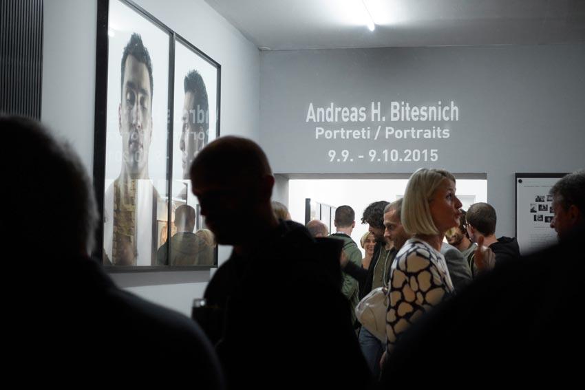 Bitesnich-Portraits-exhibition,-Slovenia,-Ljubljana,-September-2015-17485