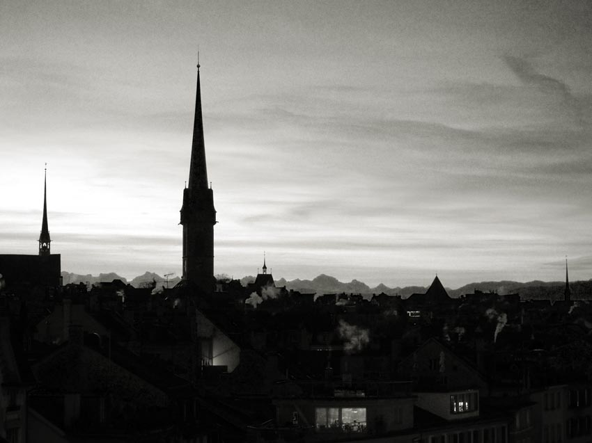Switzerland. Zurich, December 2015