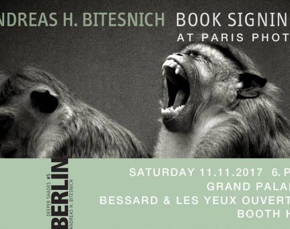 DEEPER SHADES BERLIN Book signing at Paris Photo