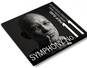 CD  COVER FOR NEW PHILIP GLASS SYMPHONY