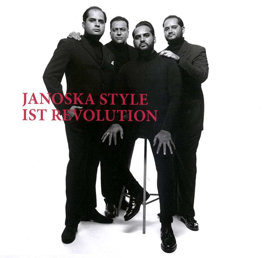 Janoska Ensemble - Revolution CD cover