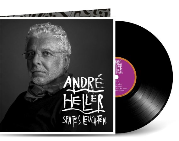 ANDRÉ HELLER PORTRAIT FOR HIS NEW ALBUM COVER